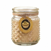 Hobnail Jar Candle Butter Cream