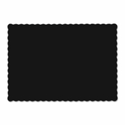 Hoffmaster  Solid Color Paper  Placemats  BLACK  1000/cs