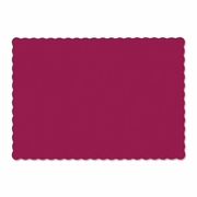 Hoffmaster Solid Color Paper  Placemats  BURGUNDY  1000/cs..