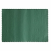 Hoffmaster  Solid Color Paper  Placemats  HUNTER GREEN  1000/cs.