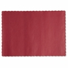 Hoffmaster  Solid Color Paper  Placemats  RED  1000/cs.