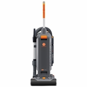 "Hoover HushTone Vacuum Cleaner with Intellibelt, 13"", Orange/Gray  FREE SHIPPING"