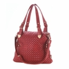 Jetset Woven Texture Red Shoulder Bag