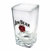 Jim Beam Decorated Shot Glass 2.75oz  Set of 6