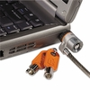 Kensington Laptop Computer Microsaver Security Cable with Lock,  Two Keys