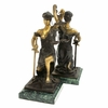 Kneeling Lady Justice Bookends