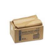 Sanitary Napkin Receptacle Liners Kraft Waxed Paper