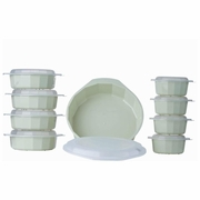 LaCuisine� 18pc Microwave Cookware Set