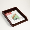 Letter Tray Tan Leather