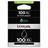 Lexmark 14N1068 (100XL) High-Yield Ink, 510 Page-Yield, Black