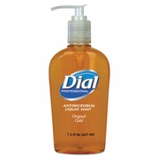 Dial® Gold Antimicrobial Soap 7-1/2oz pump  (12/case)  FREE SHIPPING