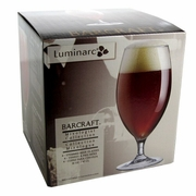 Luminarc Bar Craft Stemmed Beer Glass 16oz/ Set of 4