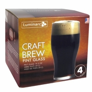 Luminarc Craft Beer Tulip Glass 20oz  4/set