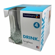 Luminarc Brighton Cooler Glass 16oz  4pc/set