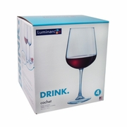 Luminarc Cachet Pinot Glass 18.5oz / Set of 4