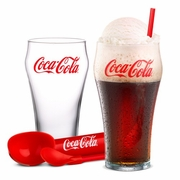 Luminarc Coca-Cola Ice Cream Float Set 9pc