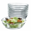 "Luminarc Directoire Clear Glass All Purpose Bowl 6""   12/set"