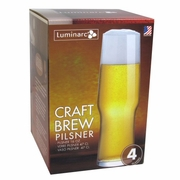 Luminarc Craft Brew  Evolution Pilsner Glass 16oz  Set of 4