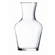 Luminarc Glass Carafe Nightstand Round 16 3/4 oz - 1/2 Liter