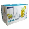 Luminarc Oxygen  Tumbler Set     Set of 16