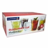 Luminarc Glass Party Cup  16oz   Set of 6