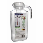 Luminarc Quadro Glass Pitcher with Infuser 57.25oz