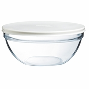 Luminarc Stackable Bowl with White  Lid  5-1/4""