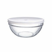 Luminarc Stackable Bowl with White Lid 7-3/4""