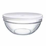 Luminarc Stacking Prep Bowls with Lids