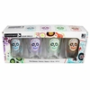 Luminarc Sugar Skulls S/4 Assorted Decorated Pub 16oz