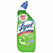 LYSOL  Brand Disinfectant Toilet Bowl Cleaner With Bleach  24oz Bottle