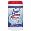LYSOL® Brand Power & Free™ Multi-Purpose Cleaning Wipes with Hydrogen Peroxide  75wipes/Can. 6/case