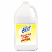 LYSOL Professional Disinfectant Deodorizing Cleaner, 1gal Bottle, Concentrate, Lemon, 4/Carton  FREE SHIPPING