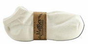 Maggies Functional Organics Footie Socks Tri Pak White 10-13