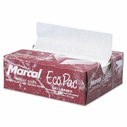Marcal Eco-Pac Natural Interfolded Dry Wax Paper 6 x 10  (12pkg/case)