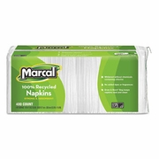 Marcal  Small Steps  100% Premium Recycled White Luncheon Napkins 2400/case