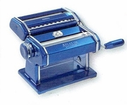 Marcato Atlas 150 Hand Crank Pasta Machine Blue