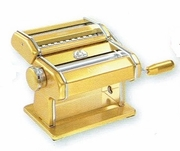 Marcato Atlas 150 Hand Crank Pasta Machine Gold