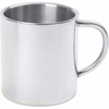 Maxam  15oz Double Wall Stainless Steel Coffee Cup