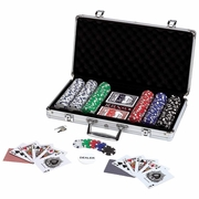Maxam® 309pc Poker Chip Set in Aluminum Case