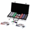 Maxam 309pc Poker Chip Set in Aluminum Case  FREE SHIPPING
