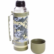 Maxam® 33.8oz (1L) Digital Camouflage Vacuum Bottle