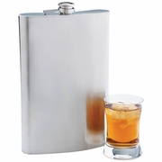 Maxam® Jumbo Flask Stainless Steel 64oz.