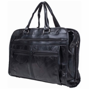 Maxam    Patchwork Design Genuine Leather Briefcase