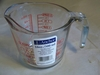 Anchor Hocking Measuring Cup Oven Proof Glass 16oz