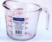 Measuring Cup Oven Proof Glass  4 cup