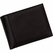 Mens Leather Bi Fold Wallet