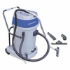Mercury Storm Wet/Dry Tank Vacuum with Tools, Dual Motor, 20 Gallon Poly Tank, Gray