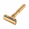 Merkur Futur Adjustable Double Edge Safety Razor With Snap Closure, Gold