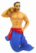 Merman Ornament Lumber Jack
